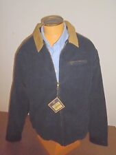 Bills Khakis 100% Cotton 11 Wale Corduroy Shed Jacket NWT XL  $275 Navy