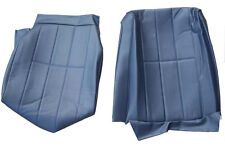 VOLVO 240 245 265 SEAT COVER ORIGINAL UPHOLSTERY 4 line BLUE VINYL 5147,1430