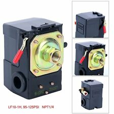 Lefoo Quality Air Compressor Pressure Switch Control Valve 95-125 PSI with Unloader