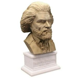 Frederick Douglass 3D Printed Bust Famous Writer Art FREE SHIP