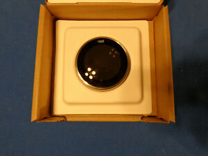 Nest Thermostat 3rd Generation Stainless Steel  Sold as is-NO RETURNS