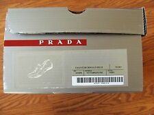 PRADA 4464 CALZATURE DONNA IN PELLE SIZE, EUR 38,5 US 8.5 D-Brown, PRE OWNED