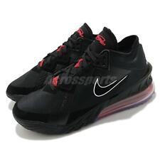 Nike Lebron XVIII bajo EP 18 James criado Negro Rojo Universitario Zapatos para hombres CV7564-001