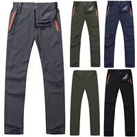 Men Women Outdoor Hiking Quick Dry Trousers Windproof Waterproof Trekking Pants