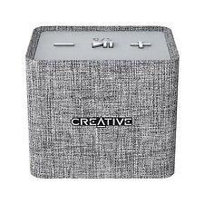 Creative Nuno Micro DESIGNER Cloth Bluetooth Speaker - Grey