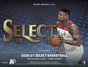 2020 2021 Panini Select Basketball H2 Hybrid Hobby 20 Box Case PRE ORDER
