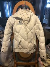 Burton Honda Womans Down Feather Jacket Small reversible