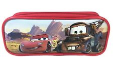 Disney Cars Movie Mc Queen & Mater Red Color Pencil Case Pencil Pouch