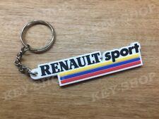 Porte clés / Keychain Renault Sport RS Clio 172/182/V6 Megane Old Blanc/White