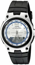 Casio Men's Analogue & Digital Fishing Gear Resin Strap Watch, AW-82-7AVDF