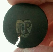 Island Providenciales IP heart counterstamp colonial turks caicos west indies