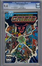 CRISIS ON INFINITE EARTH #3 CGC 9.4 WHITE PAGES!!!
