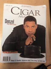Cigar Aficionado Magazine Feb 1998 Denzel Washington
