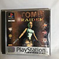 Tomb Raider - (Platinum) (Sony PlayStation 1, 1999) - European Version