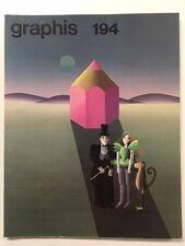 Graphis 194 Vintage International Design Advertising Illustration 1977-78 Herdeg