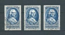 JOURNÉE DU TIMBRE - 1953 YT 940 3x - TIMBRES OBL. / USED - COTE 12,00 €