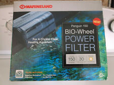Marineland Aquarium Power Filter- Penguin 150 Bio-Wheel with Rite Size B filter