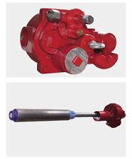 Oil Petrol Disel Submersible pump red jacket 220V