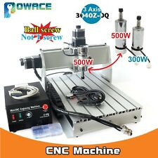 3040 Z-DQ 500W 3 Axis Desktop 3040 CNC Router Engraving Milling Machine 220/110V