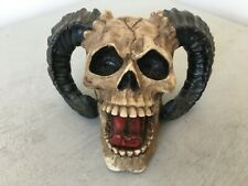 Nemesis Now Human x Ram Demon Skull