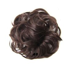 30gr Wave Curly Synthetic Hair Flexible Scrunchie Wrap For Chignon Ponytails