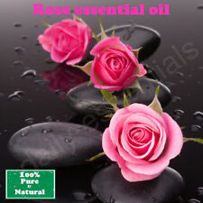 Rose Essential Oil Organic Therapeutic Aromatherapy, 100% pure and Natural 10ml