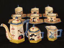 Service à thé ou cafe Henriot Quimper