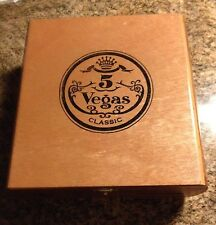 One  cigar box 5 Vegas Classic Churchill Sleek Curved sides Very Unusual