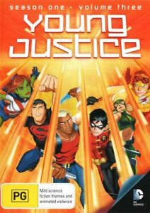 Young Justice Season 1 Volume 3 - BRAND NEW - DVD