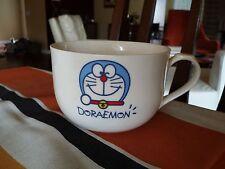 RARE Vintage  DORAEMON  CAT OVERSIZE COFFEE MUG CAFE AU LAIT SANRIO CUP