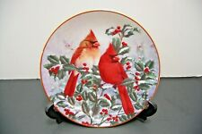 Winter's Splendor plate, A Garden Song, The Hamilton Collection, Wild Wings 1994