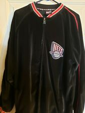 New Jersey Nets Tony Soprano velour Full-Zip Jacket XL