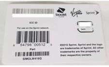NEW Sprint NANO SIM Card - SIMOLW416Q /  CZ4114LWQ
