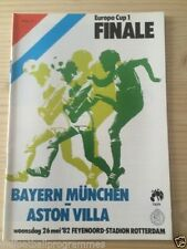 Bayern Munich Home Teams A-B Final Football Programmes