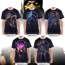 Mortal Kombat X Video Game (PS4 XBOX) - Custom T-Shirts / Jersey
