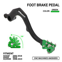 Rear Foot Brake Pedal Lever For KAWASAKI KX450F 2006-2018 KX450 KLX450R 2019