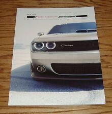 Original 2015 Dodge Challenger Deluxe Sales Brochure 15 Hellcat Shaker Scat Pack