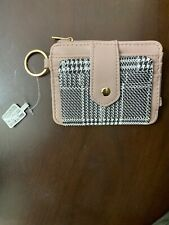 9 Card Holder Rose Gold Small Leather Wallet