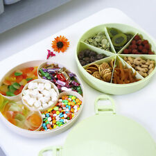 Snack Serving Tray Candy, Nut, Dried Fruit Storage Box with Lid CHL