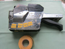 Vintage Sato Dennison 216 Chrome Plastic Pricing Price Gun with Stickers