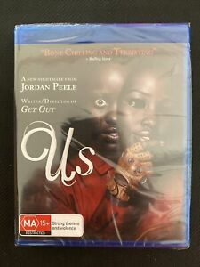 Us (2019) Bone Chilling & Terrifying - Blu Ray DVD - Brand New - Horror Thriller