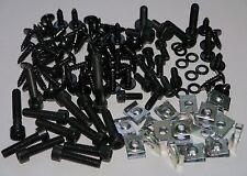 Mega set revestimiento tornillos negro + Clipse yamaha aerox MBK nitro 111 piezas