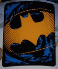 New Official Batman Shield Logo Thin Fleece Throw Blanket Superhero Boy Gift NIP