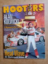 More details for hooters girls magazine issue 10 spring 1993 swimsuit issue 58 page alan kulwicki