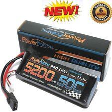 PowerHobby 3S 11.1V 5200mAh 50C Lipo Battery w Traxxas Plug : Traxxas Rustler VX