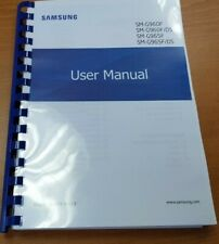 SAMSUNG GALAXY S9 SM - G960F PRINTED MANUAL USER GUIDE 278 PAGES A4