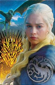 Daenerys Targaryen Khaleesi A Game of Thrones 11 x 17 high quality poster