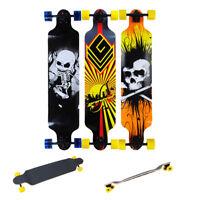 "41""x9.5"" Professional Longboard Skateboard Cruiser Downhill Complete 7 Layers"