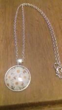 18 inc chain bnwot pretty silver tone necklace