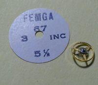 Teil Uhrenhandel Armbanduhr Femga 67 5½ Pendel